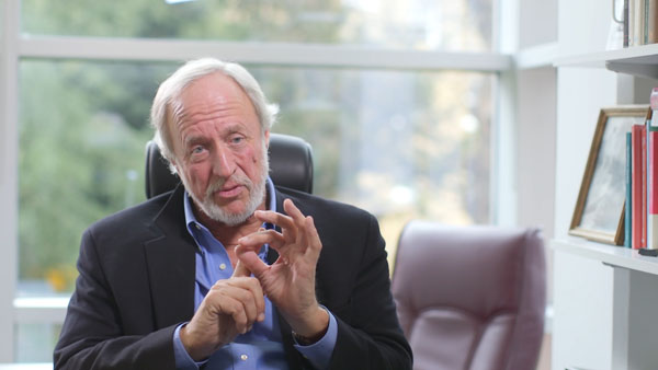 Professor Robert Plomin 'one of thre most eminent psychologists alive today'.